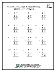 Regrouping Worksheets Math Engaged Immigrant Youth