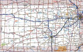 Large Map Of Usa by Road Map Of Kansasfree Maps Of Us