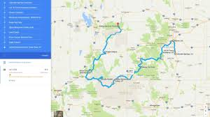 Map Of Utah And Colorado by The Horizon Zero Dawn Real World Road Trip Challenge Features