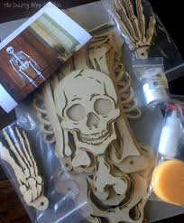 halloween skeletons decorations how to make a skeleton halloween decoration for the front door