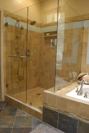 bathroom showers without doors black high glossy finished sink