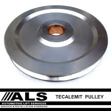 tecalemit laycock high speed 4 post vehicle lift car ramp pulley