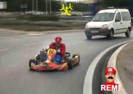 vidéo Rémi Gaillard redevient Mario Kart