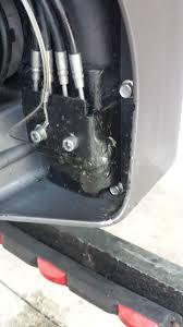 2008 volvo penta 4 3l fluid leak behind propeller page 1 iboats