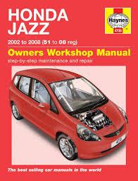 honda jazz 02 08 haynes repair manual haynes publishing