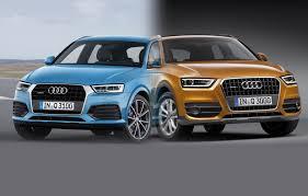 lexus vs audi q3 audi q3 2015 facelift vs pre facelift spot the difference carwow