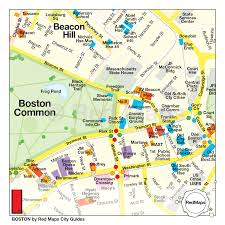 Map Of Boston Neighborhoods by Maps Of Usa Going In Style