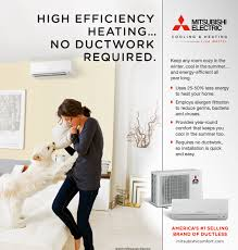a ductless heat pump can save energy costs and get high efficiency