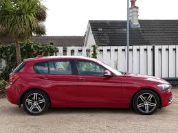 used crimson red bmw 116i for sale dorset