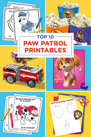 Halloween Quiz Printable by The Top 10 Paw Patrol Printables Of All Time Nickelodeon Parents