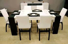 Bamboo Dining Room Furniture by Waves Collection Modern Luxury Dining Table Home Design Ideas