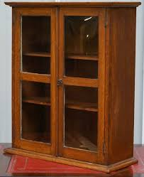 antique oak bookcase with glass doors oak display cabinets with glass doors image collections glass