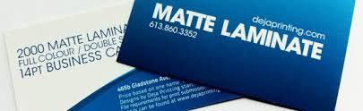How To Laminate Business Cards Dejaprinting Com High Quality Premium Print Products And Service