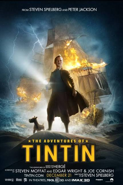 The Adventures of Tintin (2011)[1080p][Hindi Audio Only][Dzrg Torrents] – 1.93 GB