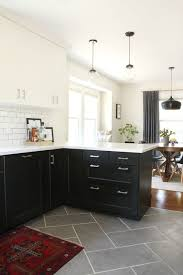 Flooring For Kitchen by Best 25 Wood Tile Kitchen Ideas On Pinterest Grey Wood Floors