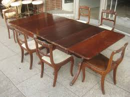Dining Table Set Traditional Dining Room Mid Century Dining Chairs With Duncan Phyfe And Dark