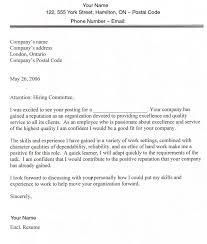 Resume Application For Job by Sample Cover Letter For Job Application My Document Blog