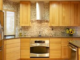 Mosaic Tiles For Kitchen Backsplash Kitchen Extraordinary Kitchen Backsplash Ideas With Oak Cabinets