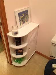 Bathroom Shelves Walmart Riverridge Home Ellsworth Floor Cabinet With Side Shelves White