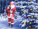 Wallpapers Backgrounds - Best Santa Claus Wallpapers (Santa wallpapers christmas tree claus beautiful Best animalszooguru blogspot 1024x768)