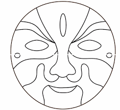butterfly mask template coloring page in butterfly mask template