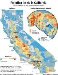 California Maps Air Quality California Map California Map