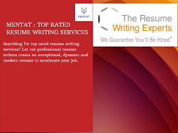 PPT Top Rated Resume Writing Services PowerPoint Presentation ID   Resume CV Cover Leter