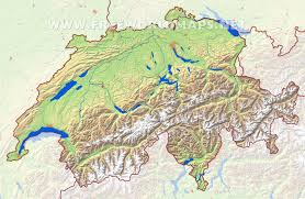 Map Of France And Switzerland by Switzerland Physical Map