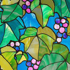 stained glass door film shop window film at lowes com