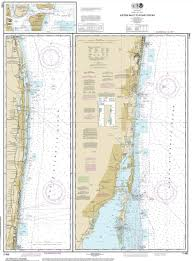 Map Of Jupiter Florida Modern Nautical Maps Of Florida 80 000 Scale Nautical Charts