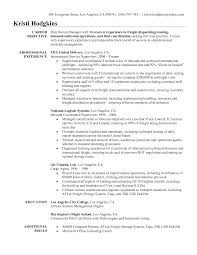Sample Resume Objectives Warehouse Worker by Resume Objective For Truck Driver Free Resume Example And