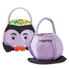 personalized halloween totes personalized treat bag characters lillian vernon