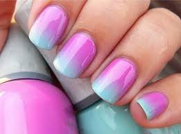 d i y ombre nails simple nail designs style nails and