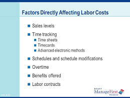 OH     Controlling Labor Costs Controlling Foodservice Costs   OH