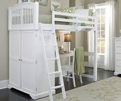 White Bedroom Desk Furniture by White Bunk Bed With Desk See The Design Variants Homesfeed