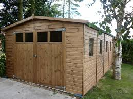 Smith Built Shed by 6x4 Wooden Tongue Groove Garden Shed With Flat Roof Garden Sheds