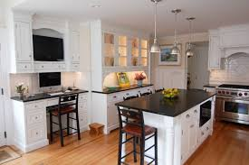 Ready Kitchen Cabinets by Granite Countertop 36 Cabinet Modern Sink Design Faucet Touch To
