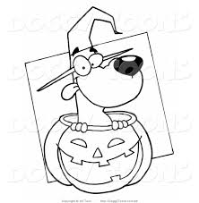 cute kids halloween coloring pages online with awesome inside dog