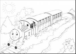 incredible thomas train coloring pages printable with lady and the