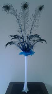 Eiffel Tower Vases Centerpieces Peacock Feather Centerpiece Kits For Sale In Usa