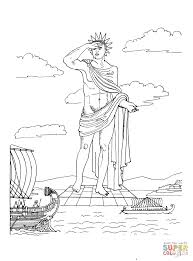 seven wonders of the ancient world coloring pages free printable