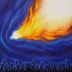 Holy Spirit Fire: Holy Spirit, Christian Praise, Worship art