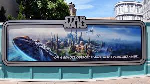 star wars land concept art added to walls at disney s hollywood star wars land concept art added to walls at disney s hollywood studios walt disney world youtube