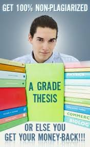 thesis writing online MBA Dissertation Proposal Example Template