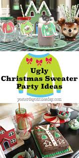 ugly christmas sweater party ideas yesterday on tuesday
