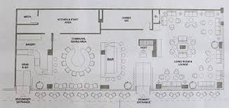 100 restaurant bar floor plan hotel lobby floor plan design