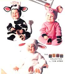 pattern witch costume cow pig lamb toddler halloween costume adorable baby