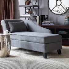 modern chaise lounge sofa castleton home storage chaise lounge modern long chair couch sofa