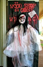 intermediate student activities halloween door decorating contest