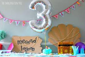 Home Party Ideas Mermaid Birthday Party Ideas The Imagination Tree